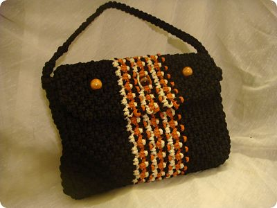 Macrame and Crochet Game Totes For Your Favorite Team Player (4/5)