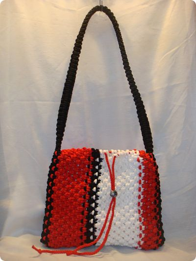 Macrame and Crochet Game Totes For Your Favorite Team Player (2/5)