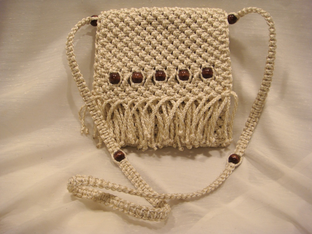 Macrame Hippie Bag